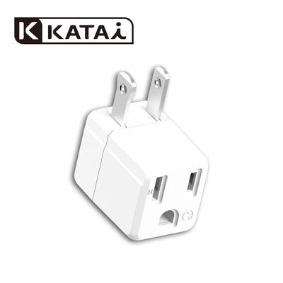 katai 三轉二 L型 白 轉接器 / PAD-32LW