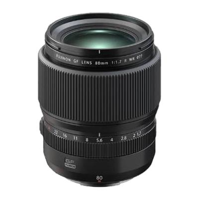 FUJIFILM GF 80mm F1.7 R WR 定焦鏡頭 公司貨