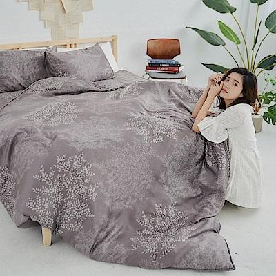 BUHO 100%TENCEL純天絲舖棉兩用被床包組-雙人加大(森沐影畔)