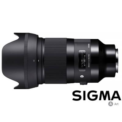 SIGMA 40mm F1.4 DG HSM Art for L-MOUNT / 接環 (公司貨)