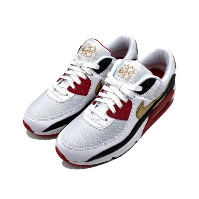 NIKE AIR MAX 90 男 休閒鞋 白黑金 CU3005171