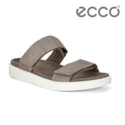 ECCO FLOWT M 簡約休閒涼拖鞋 男鞋-深灰色
