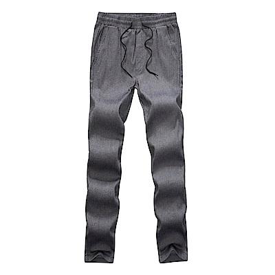 BuyGlasses 高彈斜紋內磨毛休閒長褲