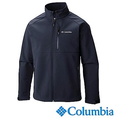 Columbia 哥倫比亞  男款-自體熱能保暖防風外套-藍色UWE66580NY
