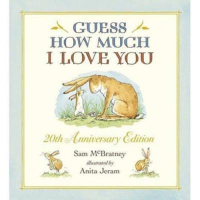 Guess How Much I Love You 20週年紀念版精裝薄頁故事書