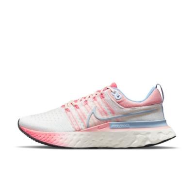 NIKE REACT INFINITY RUN FK 2 女慢跑鞋-白粉-DJ6055161