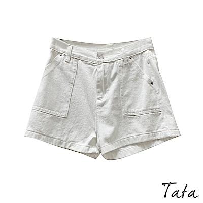 大口袋牛仔短褲 共二色 TATA-(S/M)
