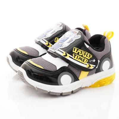 SUPER WINGS 電燈運動鞋款 SNI3016黑(中小童段)
