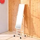 BuyJM鐵製烤漆活動立鏡/穿衣鏡-寬38.5×深38×高152公分