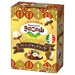 明治 大粒香菇造型餅乾-義式榛果口味(46g)