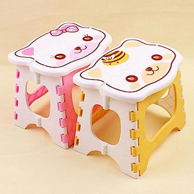 親親寶貝 卡通粉彩折疊椅兒童摺疊凳