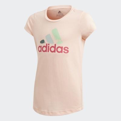adidas 短袖上衣 女童 GD9246