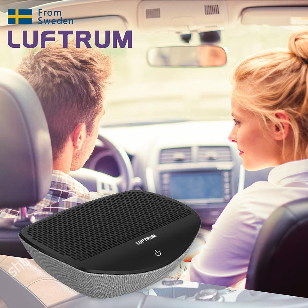 瑞典LUFTRUM 智能車用空氣清淨機-銀霧灰(C20A-2)