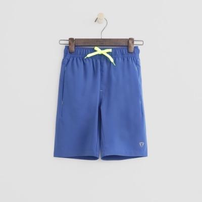 Hang Ten -童裝 - ThermoContro-亮色抽繩運動短褲 - 藍