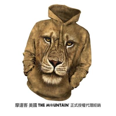 摩達客 美國進口The Mountain 獅勇士  長袖連帽T恤
