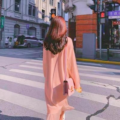 Secret Closet-假兩件針織連身裙