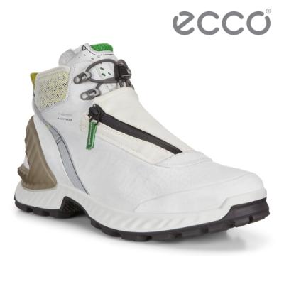 ECCO EXOHIKE M 攀越高筒戶外機能運動鞋 米其林限定 男鞋 白色