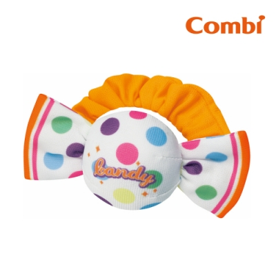 【Combi】糖果布物手搖鈴