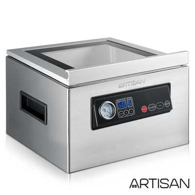ARTISAN不鏽鋼乾濕二用腔式真空包裝機/強化玻璃蓋CVS4300