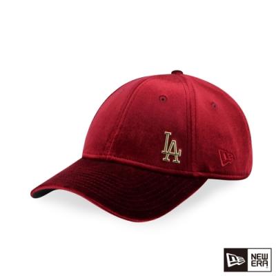 NEW ERA 9FORTY 940女版 VELVET絲絨 道奇 深紅 棒球帽