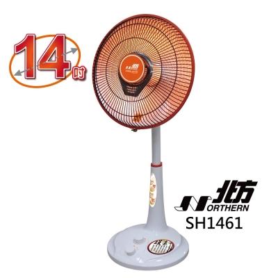 北方 14吋 2段速定時碳素電暖器 SH1461