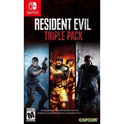 NS 惡靈古堡 三重包 Resident Evil - NS Switch 中英日文美版