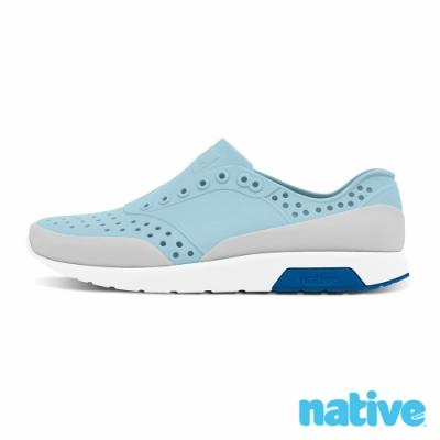 native 小童鞋 LENNOX 小雷諾鞋-天空藍x貝殼白x鴿子灰
