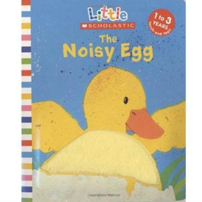 The Noisy Egg 吵鬧的蛋觸摸概念小書