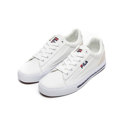 FILA CLASSIC KICKS L 2.0 男百搭帆布小白鞋-白 1-C932V-123