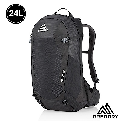 Gregory 24L SALVO多功能登山背包 正黑