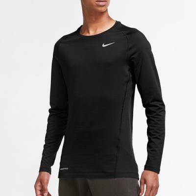 NIKE 上衣 長袖上衣 慢跑 健身 男款 黑 CV3047010 Pro Warm