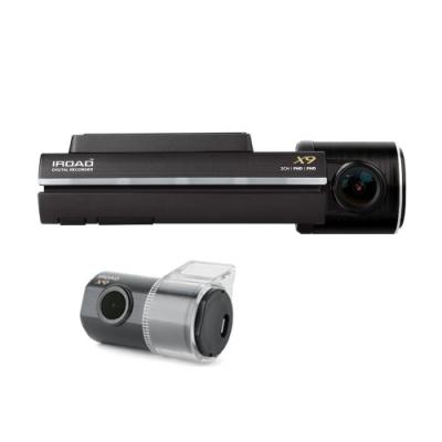 韓國 IROAD X9 前後1080P雙鏡頭 wifi 隱藏型行車紀錄器-快