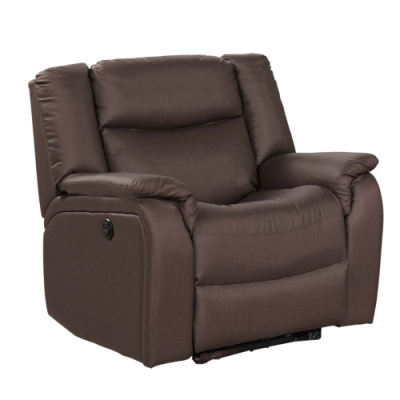 文創集 貝多高機能皮革單人電動沙發椅-92x88x96cm免組