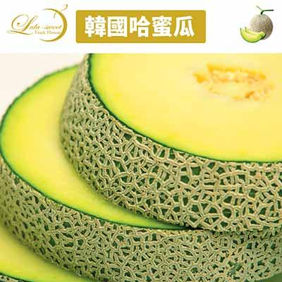 【甜露露】韓國哈密瓜2顆入(2.6kg±10%)