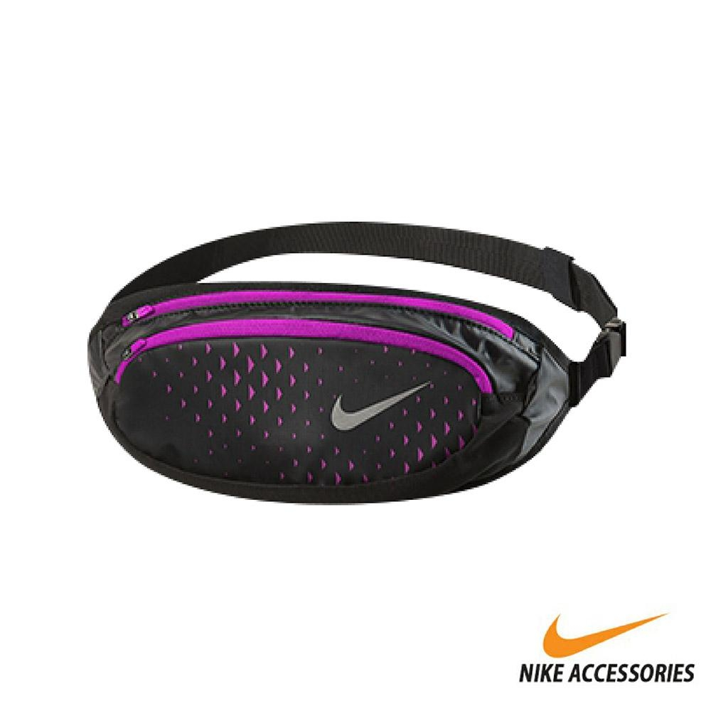 NIKE 運動腰包(小) 黑/紫