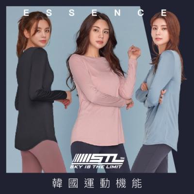 STL yoga ESSENCE LS 韓國瑜珈 運動機能 本質長版 合身蓋臀長袖上衣 全系列