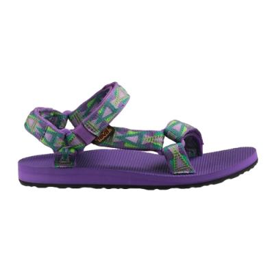 TEVA ORIGINAL UNIVERSAL 女 經典復刻款水陸涼鞋 馬賽克紫
