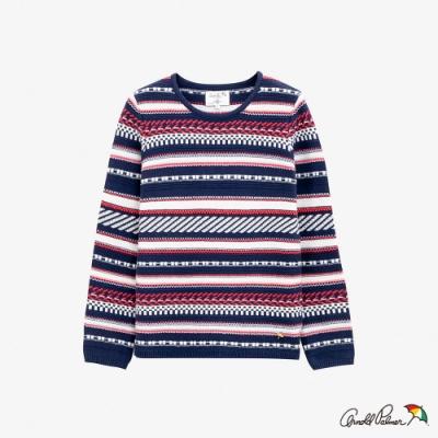 Arnold Palmer -女裝-主題立體織紋線衫-藍