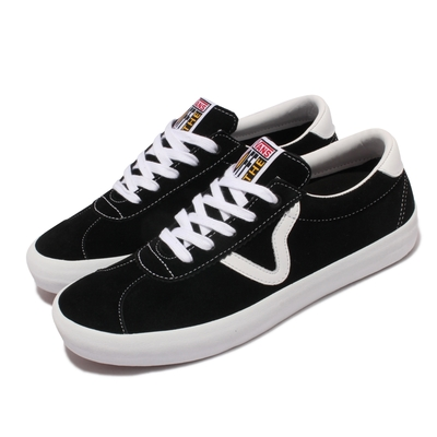 Vans 休閒鞋 Epoch Sport Pro 情侶 男女鞋 Flying V logo 街頭穿搭推薦 黑 白 VN0A4UW4Y28