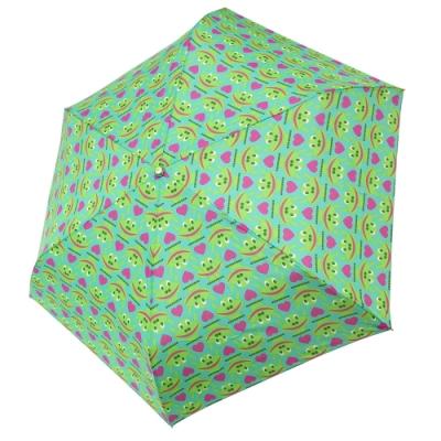 RAINSTORY青蛙家族抗UV手開輕細口紅傘