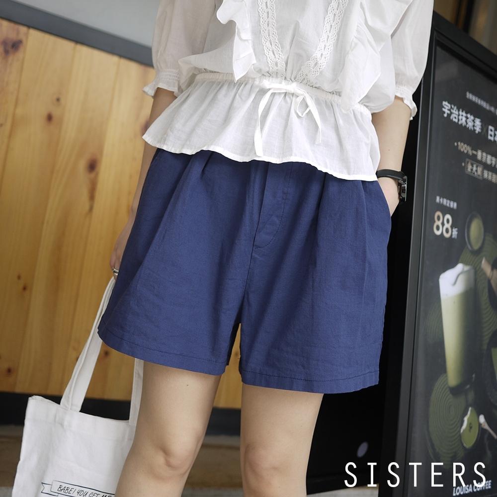 輕鬆穿搭棉麻短褲寬褲裙 SISTERS