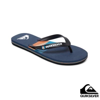 【QUIKSILVER】MOLOKAI SEASONS 拖鞋 藍色