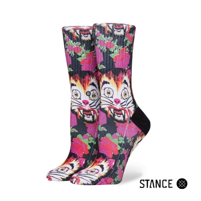 STANCE CAT MAN DO HIGH BOY-女襪-休閒襪-Libertine系列