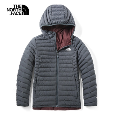 The North Face北面女款深灰色保暖防潑水羽絨外套|3KTMDYZ