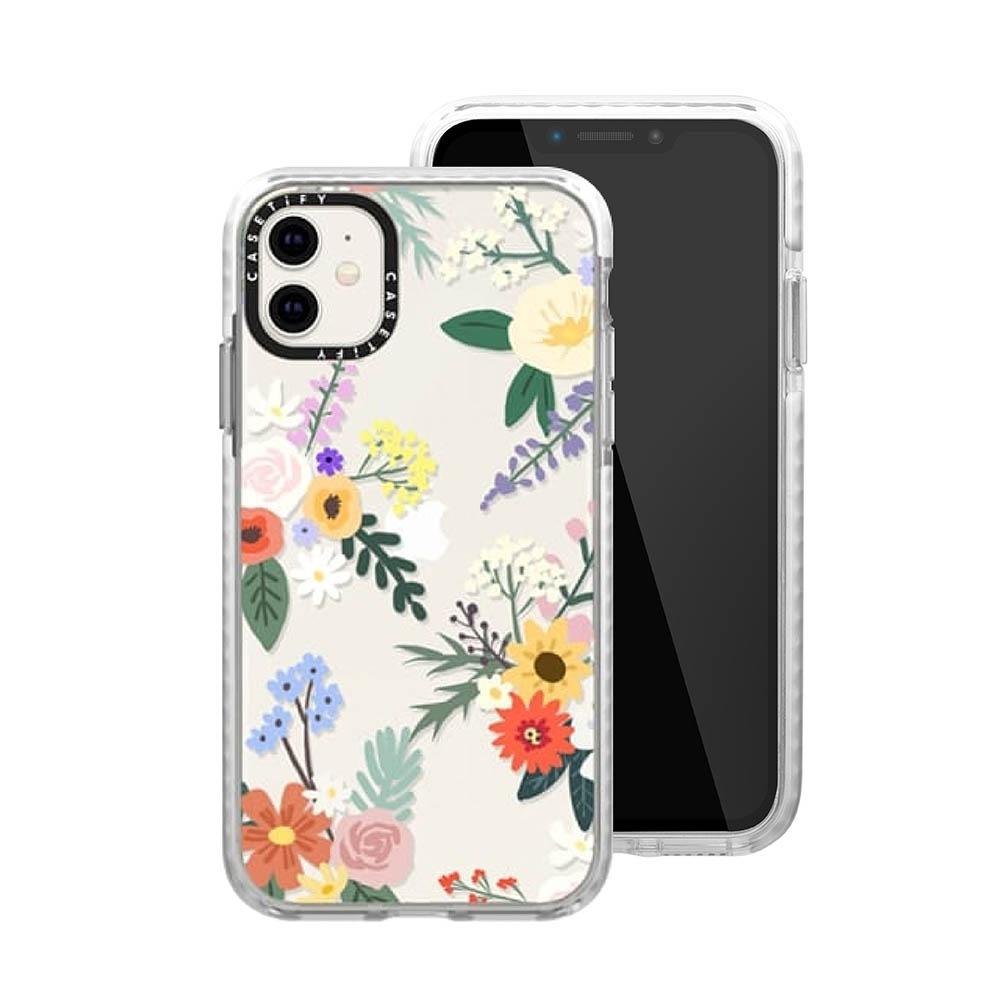 Casetify iPhone 11 耐衝擊保護殼-艾莉花園