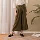 【CUMAR】腰帶造型寬褲-褲子(二色/版型顯瘦) product thumbnail 1