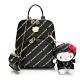 Hello Kitty聯名- 梯形後背包 Trendy Master系列-黑色 product thumbnail 1