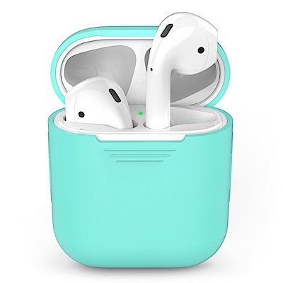 AHAStyle PodFit - AirPods 專用矽膠保護套 湖水綠色