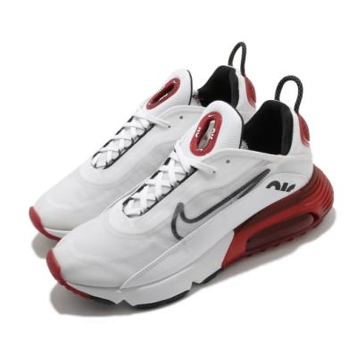 Nike 休閒鞋 Air Max 2090 運動 男鞋 氣墊 避震 舒適 簡約 球鞋 穿搭 白 紅 DC9180106