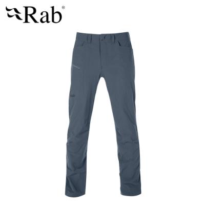 【RAB】Traverse Pants 輕量彈性快乾長褲 男款 鋼鐵藍 #QFU03